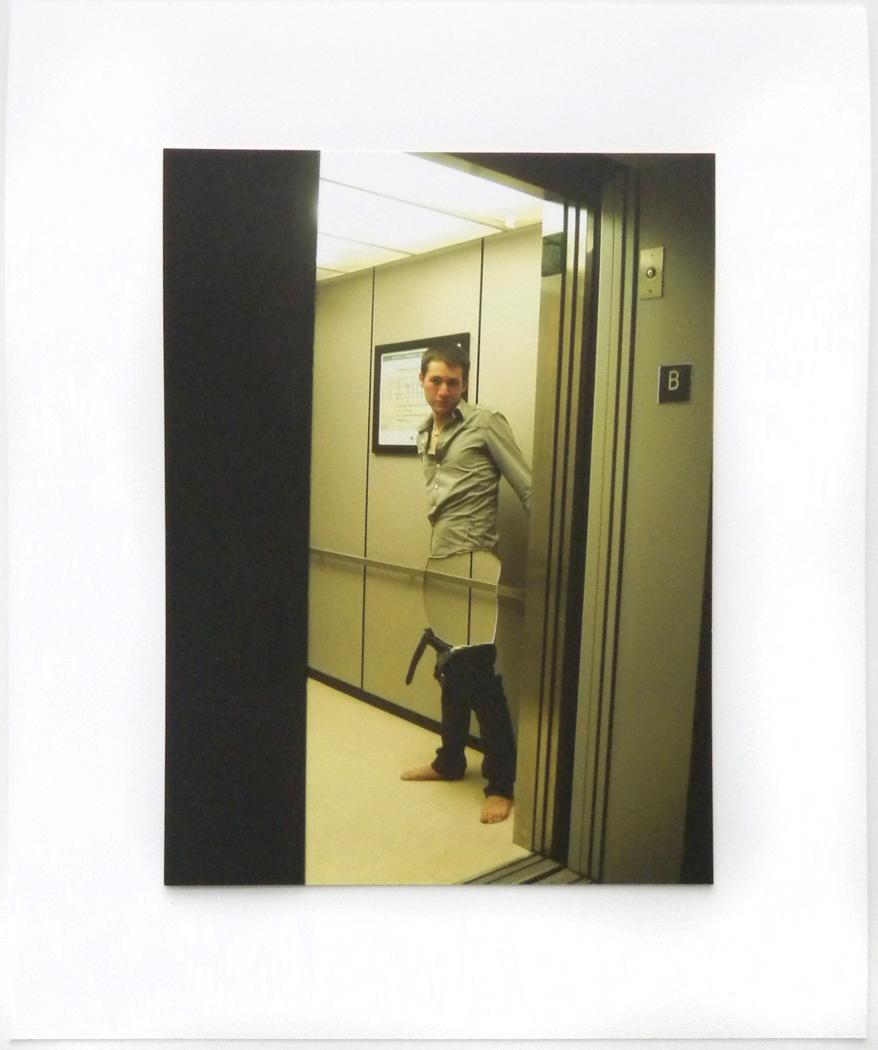 "Going Down Cut Archival Inkjet Print 11"" x 13.25"" 2011"